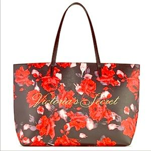 NWT Victoria Secret Large Floral Tote